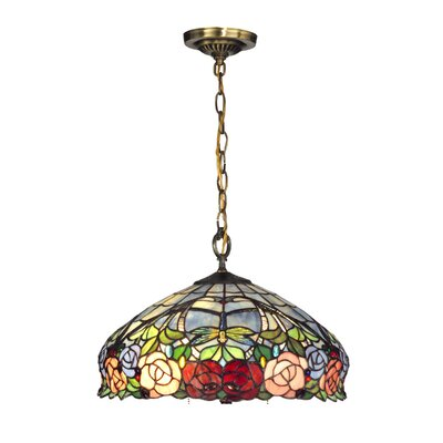 Zenia Rose 3-Light Pendant