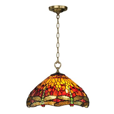Reves Dragonfly 1-Light Mini Pendant