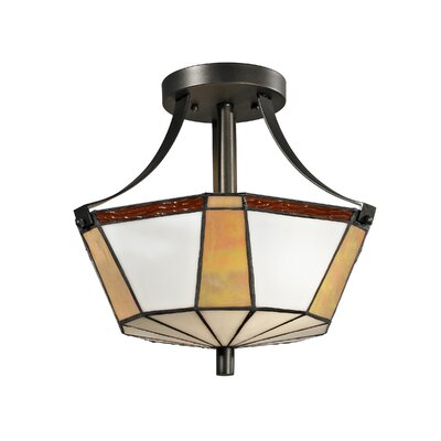 Visalia 2-Light Semi Flush Mount