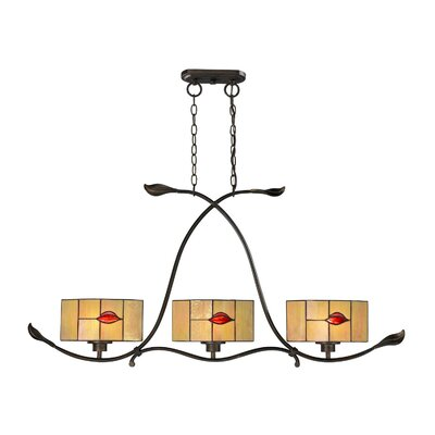 Fantom Leaf 3-Light Pendant