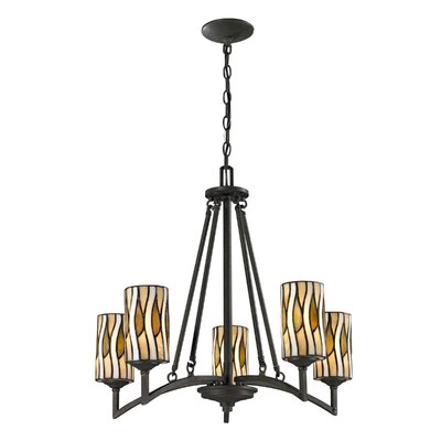 Candella 5-Light Shaded Chandelier