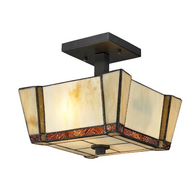 Paragon 2-Light Semi-Flush Mount