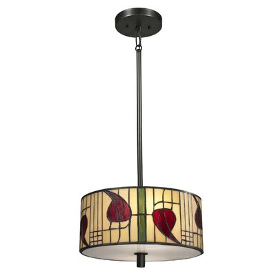 Mackintosh 2-Light Pendant