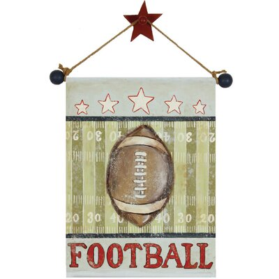 Football Canvas Hanging Art