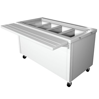 Prep Table with Stainless Steel Top Size: 36 inch H x 77 inch W x 30.5 inch D