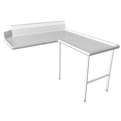 Clean Dishtable Size: 60 x 84