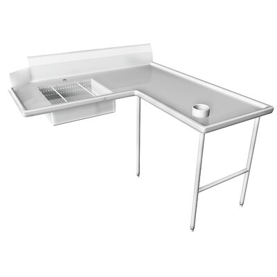 96 x 60 Single Dishtable