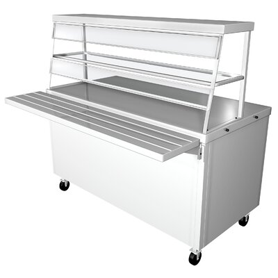 Prep Table with Stainless Steel Top Size: 36 H x 50 W x 30.5 D