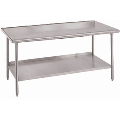 Worktable Utility Prep Table Size: 34 H x 84 W x 24 D