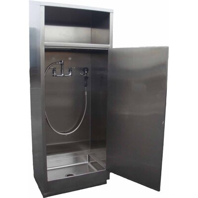 30 x 24 Single Mop Cabinet with Deep Sink