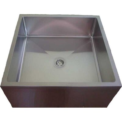33 x 33 Single ADA Service Utility Sink