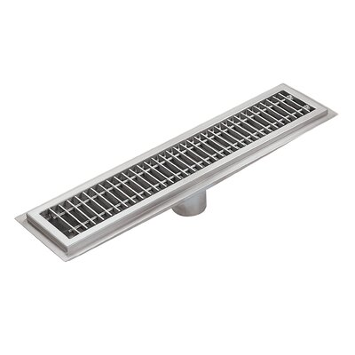 Floor Water Receptacle 4 Grid Shower Drain
