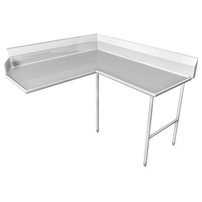 Clean Dishtable Size: 72 x 60