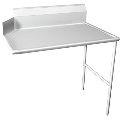 Dishtable Size: 30 inch x 108 inch