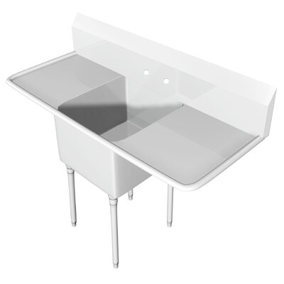 61 x 25.5 Single Scullery Sink