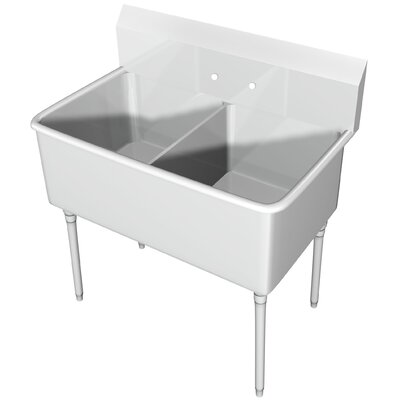 44 x 25.5 Double Scullery Sink