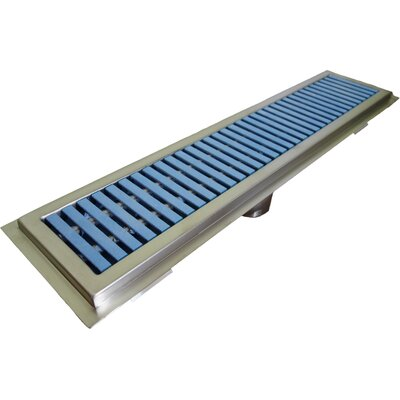 Floor Water Receptacle Grid Shower Drain