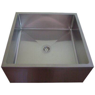 33 x 33 Single ADA Service Utility Sink