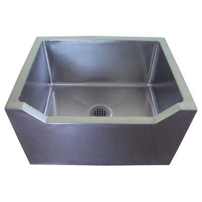 27 x 21 Single Mop Sink with Drop Front