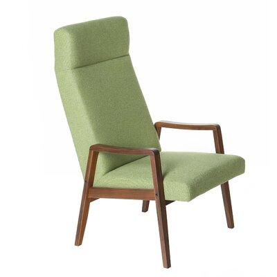 Milo Baughman Style Arm Chair