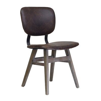 Sloan Genuine Leather Upholstered Dining Chair