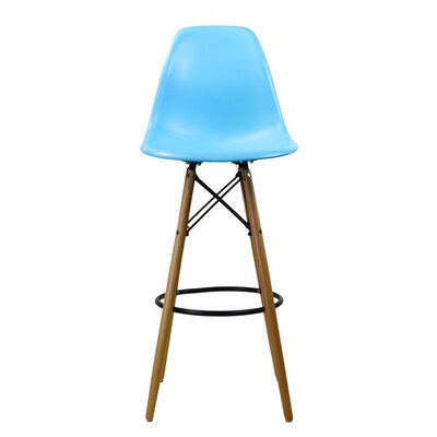 30.5 Bar Stool Finish: Blue
