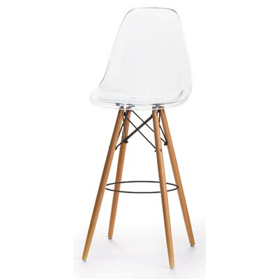 30.5 Bar Stool Finish: Clear