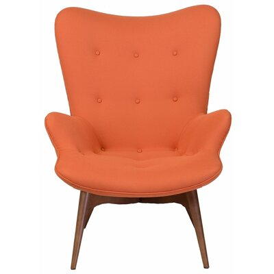 Featherston Style Contour Lounge Chair Color: Orange
