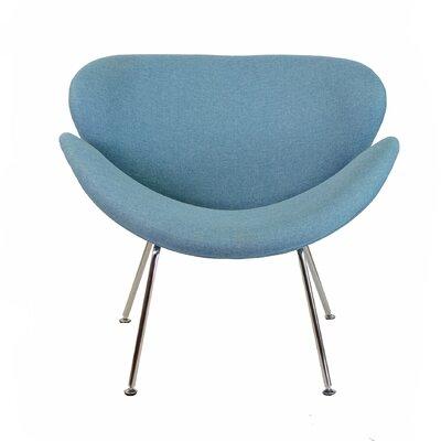 Lounge Chair Color: Blue