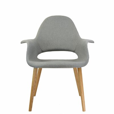The Organic Lounge Chair Upholstery: Grey