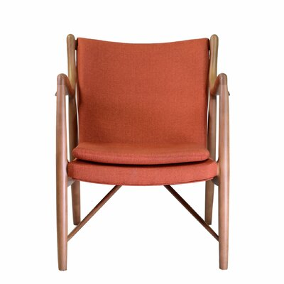 Finn Armchair Color: Orange