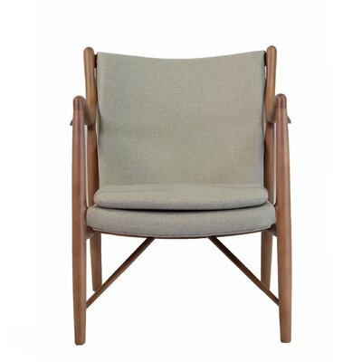 Finn Armchair Color: Grey