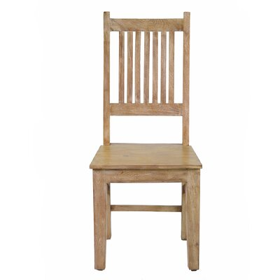 Reclaimed Solid Wood Dining Chair