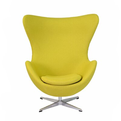 Bolero Lounge Chair Color: Yellow