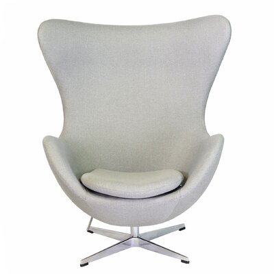 Bolero Lounge Chair Color: Gray