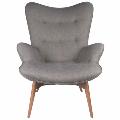 Featherston Lounge Chair Upholstery: Gray