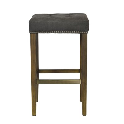 30.25 Bar Stool Upholstery: Frost Gray