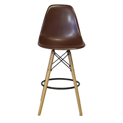 26 Bar Stool Upholstery: Brown