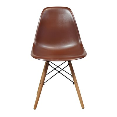 Side Chair Finish: Brown