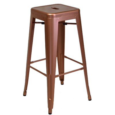 Bar Stool Size: 30 H x 17.5 W x 17.5 D