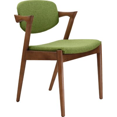 Kai Arm Chair Upholstery: Green