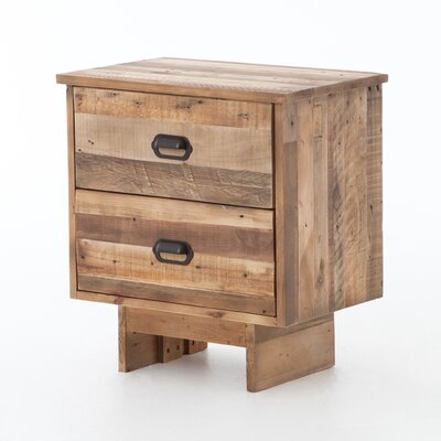 Baxter 2 Drawer Nightstand