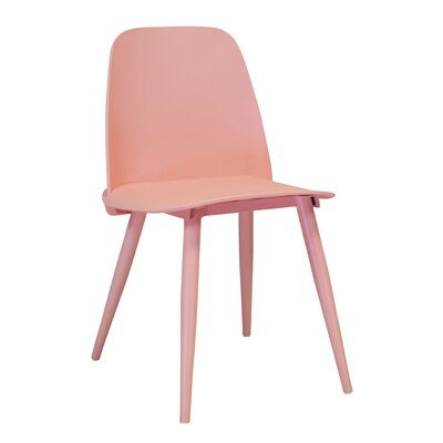 SoCo Side Chair Finish: Pink