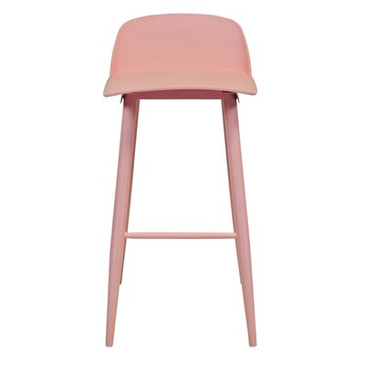 SoCo 30 Bar Stool Finish: Pink