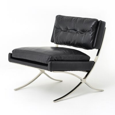 Lark Cape Town Lounge Chair Upholstery: Old Saddle Black