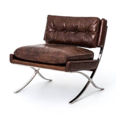Lark Cape Town Lounge Chair Upholstery: Cigar