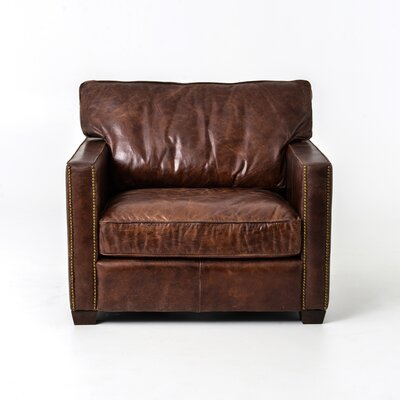 Lark Club Chair Upholstery: Cigar
