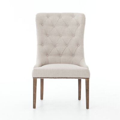Arvinda Side Chair Upholstery: Bennatt Moon