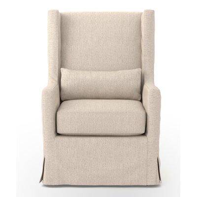 Swive Wingback Chair Upholstery: Jettte Linen