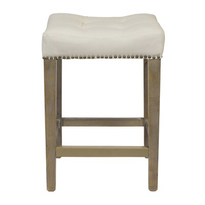 26 Bar Stool Finish: Beige